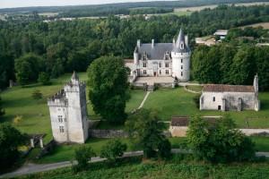 Chateau de Crazannes Réception Vue du ciel